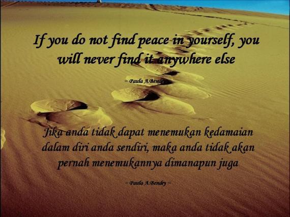 Kedamaian Hidup